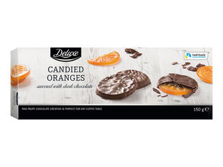 Kandizované pomaranče
