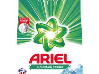 Obrázok Ariel Mountain Spring prací prášok 45 praní 1x3,375 kg