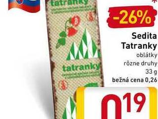 Sedita Tatranky 33 g