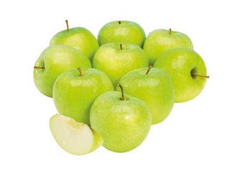 Obrázok Zelené jablká Golden Delicious