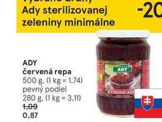 Obrázok ADY červená repa, 500 g