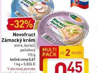 Novofruct Zámocký krém 115 g