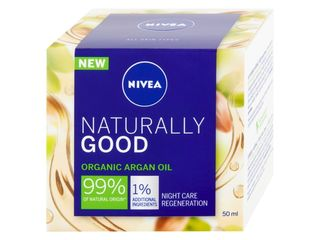 Nivea Naturally Good nočný krém 1x50 ml