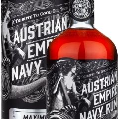 Obrázok Austrian Empire Navy Rum Maximus 40% 0,70 L