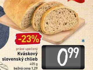 Kváskový slovenský chlieb  405 g