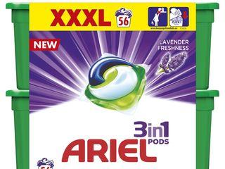 Obrázok Ariel Levander gelové tablety 2x28 ks