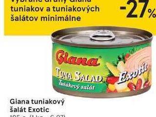 Giana tuniakový šalát Exotic, 185 g