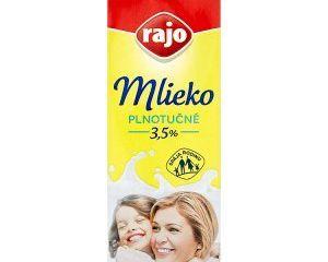 Rajo Trvanlivé mlieko 1 l