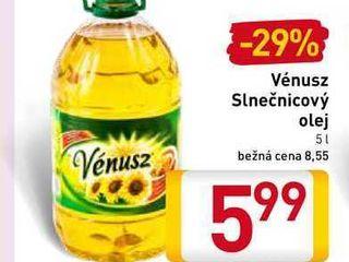 Vénusz Slnečnicový olej 5 l