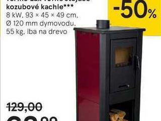 Termo Lux vol'ne stojace kozubové kachle
