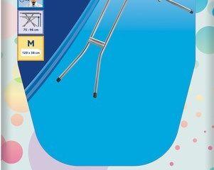 Žehliaca doska Star plus 120x38cm modrá Vileda 1ks
