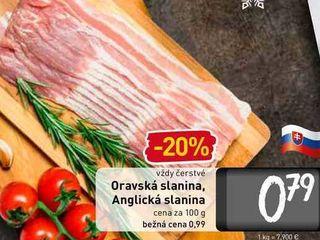 Obrázok  Anglická slanina 100 g