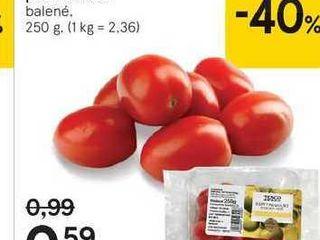 Tesco baby paradajky podlhovasté, 250 g