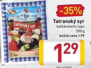 Obrázok Tatranský syr  200 g