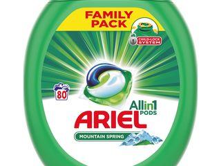 Obrázok Ariel Mountain Spring pracie tablety 80 praní 1x1 ks