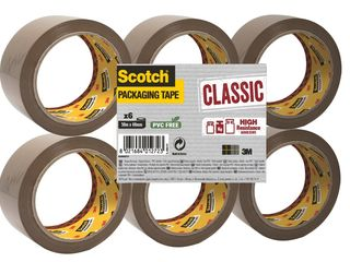 Baliaca páska hnedá 50m x 48mm 3M Scotch 6ks