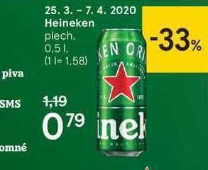 Heineken, 0,5 l
