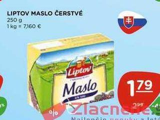Obrázok LIPTOV MASLO ČERSTVÉ 250 g