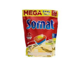 Somat Gold Lemon&Lime tablety do umývačky riadu 54+6 ks