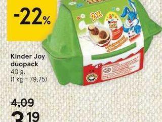 Obrázok Kinder Joy duopack, 40 g