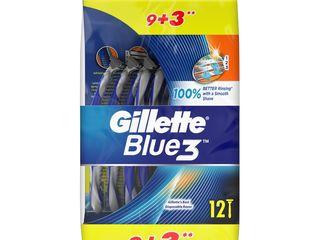 Gillette Blue3 jednorázové holiace strojčeky 1x12 ks