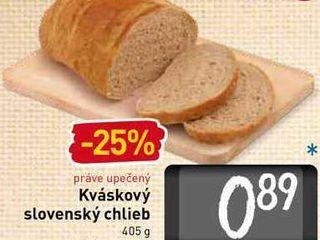Obrázok Kváskový slovenský chlieb 405 g