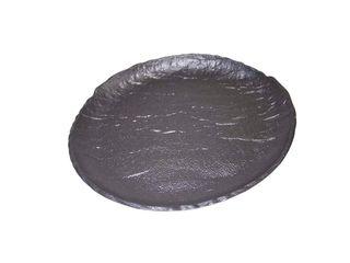 Tanier porcelánový dezertný Vulcania čierny 21cm Tognana 1ks
