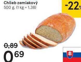 Obrázok Chlieb zemiakový, 500 g