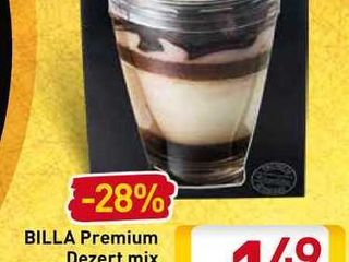 Billa Premium Dezert mix 100 g