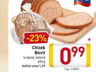 Chlieb Bevit  450 g
