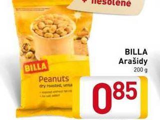 Billa Arašídy 200 g
