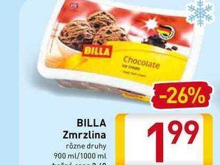 BILLA Zmrzlina  900-1000 ml