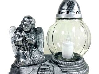 LED náhrobná sviečka