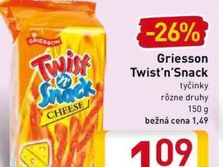 Griesson Twist'n'Snack 150 g