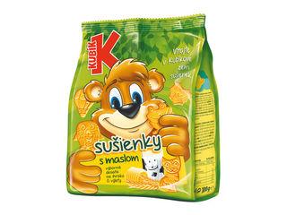 Sušienky s maslom