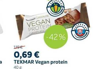 Obrázok TEKMAR Vegan protein 40 g
