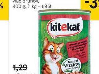 KiteKat konzerva pre mačky, 400 g
