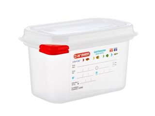 Gastro nádoba Araven 1/9 10mm 1l plast 1ks