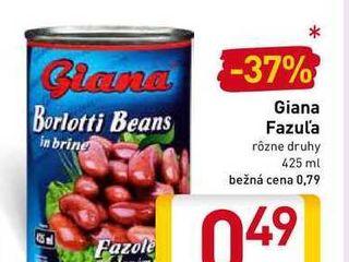 Giana Fazuľa 425 ml