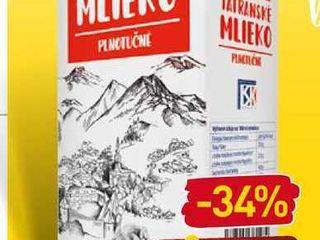 Tami Mlieko 1 l