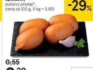 Špekáčiky, 100 g
