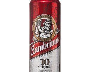 obrázek Gambrinus Originál 10 pivo výčepní světlé 0,5l plech