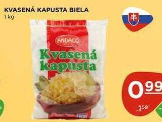 KVASENÁ KAPUSTA BIELA 1 kg