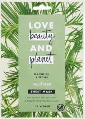Obrázok Textilná pleťová maska Tea Tree Oil & Vetiver Rapid Reset, 1 ks