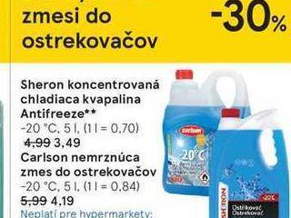 Sheron koncentrovaná chladiaca kvapalina Antifreeze