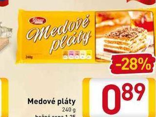 Medové pláty 240 g