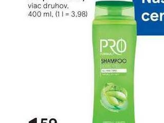 Pro Formula šampón na vlasy, 400 ml