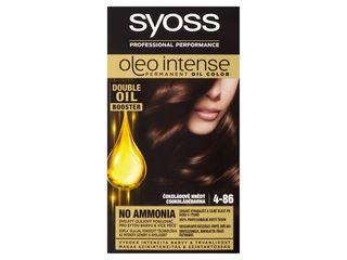Syoss Oleo Intense čokoládovo hnedá 4-86 farba na vlasy 1x1 ks