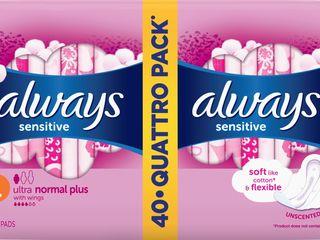 Obrázok Always ultra sensitive normal dámske vložky 1x40 ks