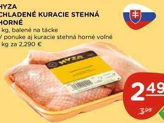 HYZA CHLADENÉ KURACIE STEHNÁ HORNÉ 1 kg